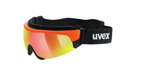 UVEX Cross Shield II Pro S orange/mirror red